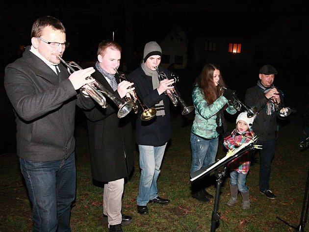 Vánoční zpívání v Putimově je už letitou tradicí.