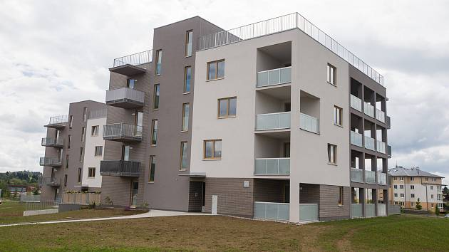 Rezidenční bydlení Klafar ve Žďáru nad Sázavou.