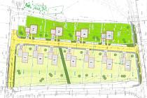Tak vypadá předběžně rozvržení parcel podle plánu městského webu.