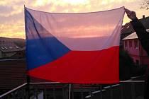 Ve středu 28. října mohou lidé opět vyvěsit české vlajky. Foto: archiv Agentury Dobrý den Pelhřimov
