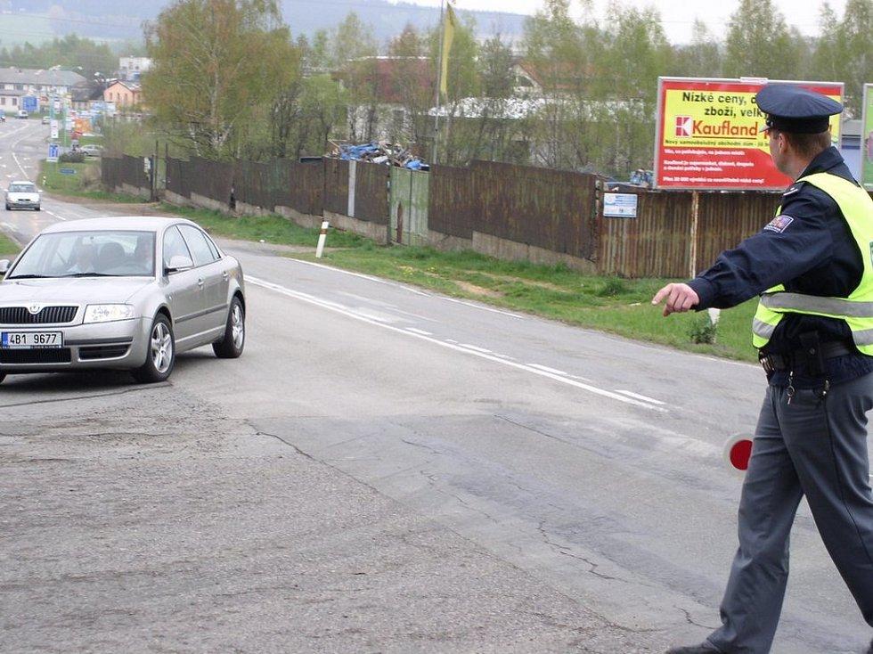 ...příslučníci policie a frekventanti policejní školy Jihlava...