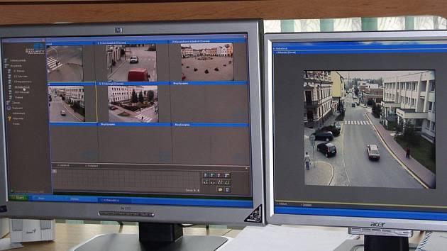 Městský kamerový systém je v Pelhřimově velikým pomocníkem