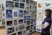 Více než 400 obrazů různých technik je do konce ledna k vidění ve výstavní síni Muzea Dr. Hrdličky v Humpolci.