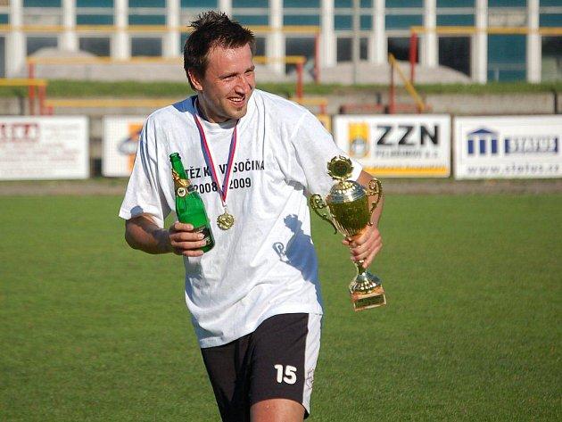 Pelhřimovští fotbalisté se po dlouhém čekání vrátili zpět do divize. Oslavy postupu tak byly okázalé.