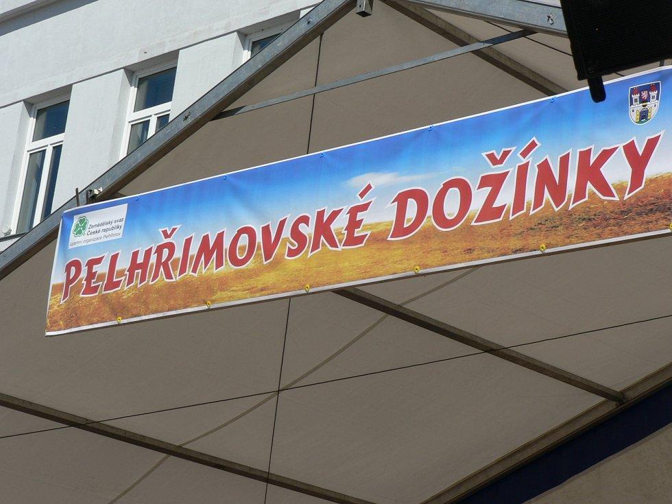 Dožínky v Pelhřimově.