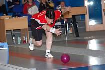 Vítězem mistrovství republiky seniorek v kuželkách, které hostil Pelhřimov,  se stala Daniela Žďárková (na snímku) z Nového Boru.