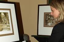 Ve Státním úřadu pro jadernou bezpečnost v Praze jsou k vidění díla výtvarníka, scénografa, spisovatele, grafika, ale především malíře Zdeňka Jizera Vonáska.