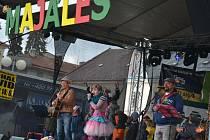 Letos se humpolecký Majáles konal netradičně v sobotu. Hudební program samozřejmě nechyběl a nově ho doplnila adrenalinová zábava.