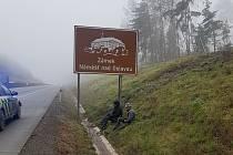 Policisté na Vysočině zadrželi na dálnici D1 dva migranty.