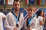 Bronzové medaile si z univerzitního ME odvezli Jakub Skořepa a Dominika Hronová.