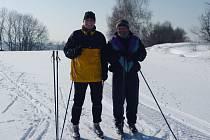 Na běžkařské okruhy s výhledem na Javořici vyrážejí jak Vlaseničtí, tak i nadšenci z Pelhřimovska a Jindřichohradecka.