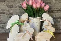 Do online Velikonočního Pelhřimovského jarmarku se zapojilo celkem šestnáct lokálních prodejců.