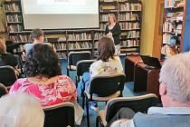 Přednáška o dobrovolnické činnosti v pelhřimovské knihovně