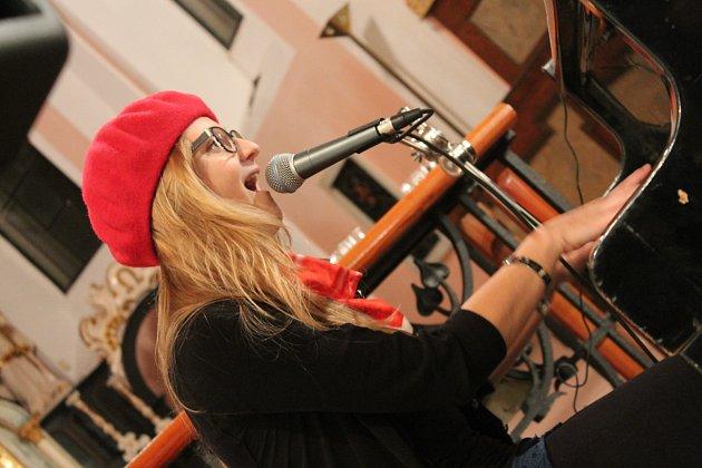 Tereza Fantová při koncertě
