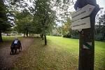 Turistická trasa pro vozíčkáře v Humpolci.