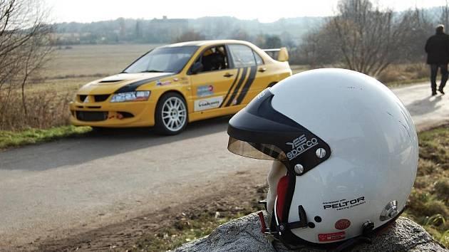 Testování pneumatik rallye-sprintových jezdců na novou sezonu