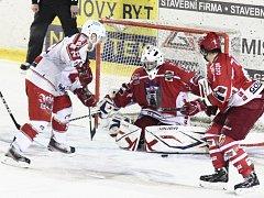 Hokejisté Pelhřimova budou v posledním zápase základní části hledat ztracenou formu. V neděli ve Žďáru předvedli celou řadu chyb v defenzívě.