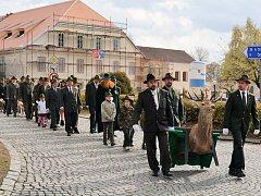 Svatohubertský program ovládl centrum Kamenice nad Lipou.