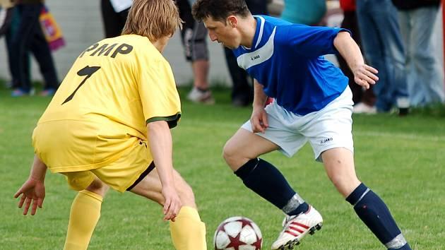 Fotbalisté Horní Cerekve udělali hodně pro klid od bojů o záchranu. V důležitém zápase porazili lepšící se Budíkov, ovládli začátek a konec zápasu.
