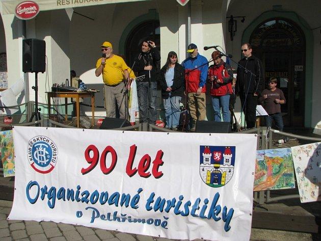Zahájení turistické sezony v Pelhřimově.