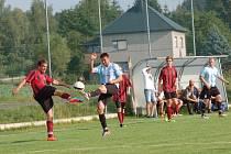 Fotbalisté Speřic střídali v průběhu podzimu lepší výkony s těmi horšími. V domácím zápase proti Košeticím se moc nepředvedli, prohráli 0:2.