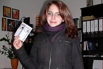 Eliška Bartoňová má ráda nové filmy, pelhřimovské kino Vesmír navštěvovala často i před digitalizací.