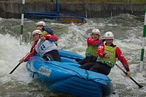 Vodní kanál Trnávka je považován za nejnáročnější na světě. V Želivě tak vyhrávají skutečně ti nejlepší.