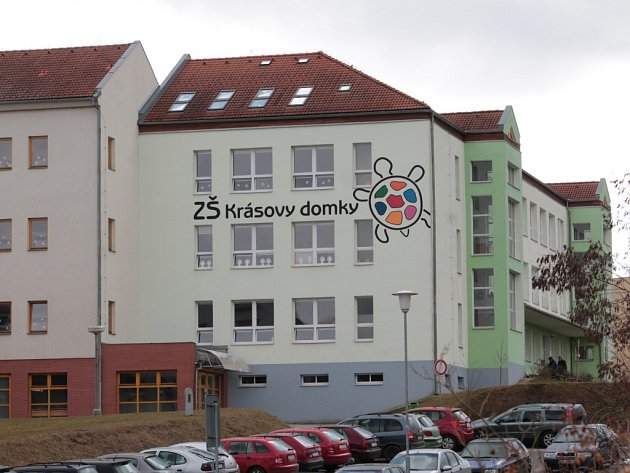 Základní škola Krásovy domky v Pelhřimově.