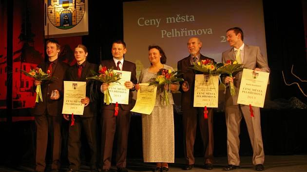 Desátý ročník předávání Cen města Pelhřimova v kulturním domě Máj
