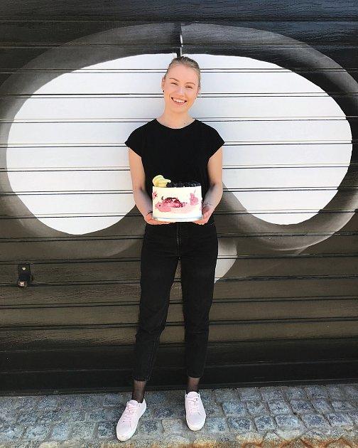 Cukrářka a pekařka Barbora Lamačová tvoří pod značkou Bara Bakery. Foto: archiv Barbory Lamačové