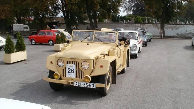 Krajem perleťářů v Žirovnici.Foto: Milan Morava z Veteran car clubu Žirovnice