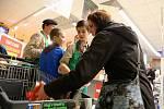Sbírka potravin se uskutečnila i v Penny marketu v Kamenici nad Lipou.