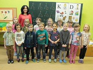 Na fotografii jsou žáci ze ZŠ Horní Cerekev, 1. třída paní učitelky Milady Jírové. Příště představíme prvňáky ze ZŠ Černovice.
