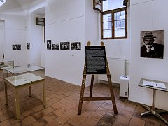 V želivském klášteře vystavují výtvory Františka Pořického.