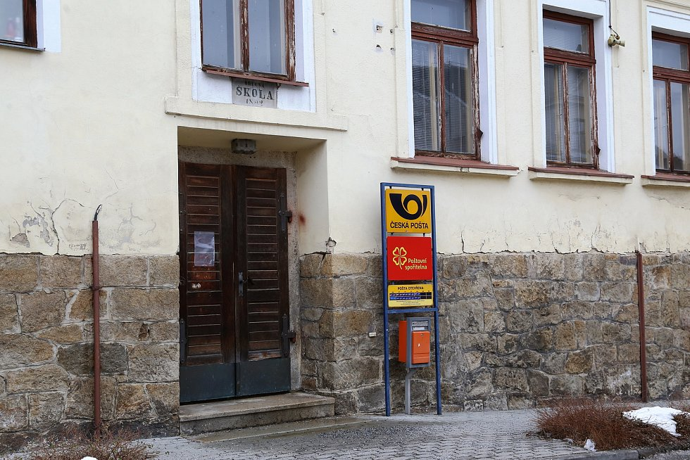 Nový Rychnov. Pošta
