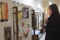 V Městské knihovně v Pelhřimově jsou v současné době k vidění čtyři výstavy.