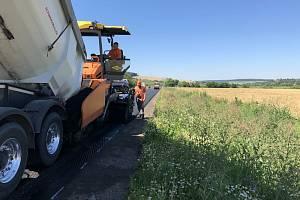 Opravy na silnici I/38.