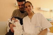 Tereza Sihelská, 17. března 2010, Lukavec, 2 800 g