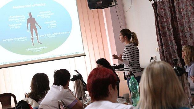 Přednáška na téma Tabák a jeho vliv na zdraví v Nemocnici Pelhřimov.