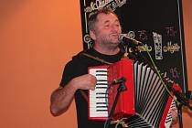 Písničkář Václav Koubek v Pacově