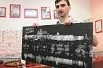 Petr Diblík vytváří unikátní mozaiky.