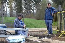 V rámci rekonstrukce observatoře Českého hydrometeorologického ústavu Košetice vznikne ve zmíněném areálu také vstupní automatická brána (na snímku), kterou tamní meteorologové otevřou pomocí čipu.
