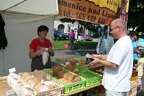 Farmářské trhy v Humpolci