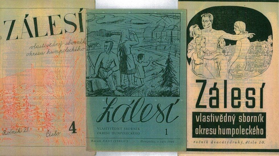 Co se psalo ve sborníku Zálesí v minulém tisíciletí si mohou nejen Humpolečtí přečíst před íčkem, městským úřadem či u polikliniky.
