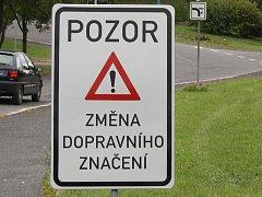 V ulici Dr. Tyrše a části Solní platí jednosměrka.