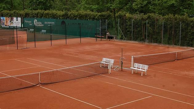 Tenisové kurty TK Pelhřimov, ilustrační foto