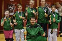 Pět závodníků z pelhřimovského klubu TKD Lacek nepoznalo na turnaji ve Slovinsku přemožitele.