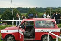 Feuer show v Košeticích