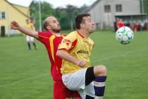 Speřicím se na jaře nedaří v koncovce. Zadrhl se i tradiční stroj na góly Pavel Štěpán (vpravo).