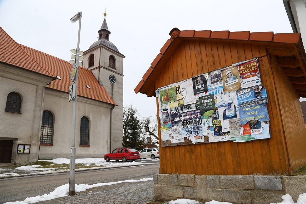 Nový Rychnov. Kostel Nanebevzetí Panny Marie